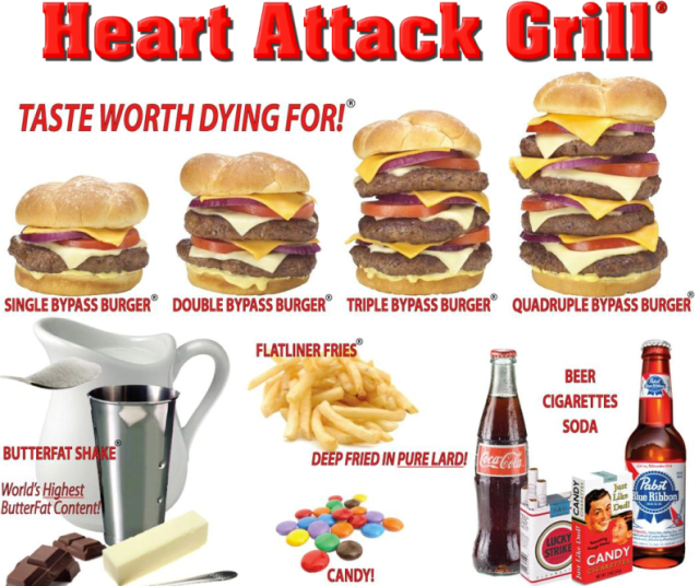 Heart-Attack-Grill Menu